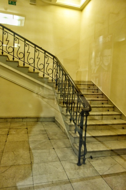 Staircase in the Palace of Science and Culture