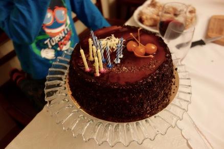 Ola's 70th birthday cake