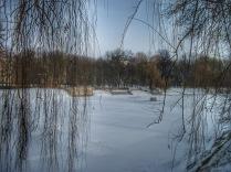 The fountain pond in Morskie Oko