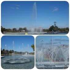 Multimedia fountain