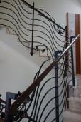 Stairs in the Zakopane apartment
